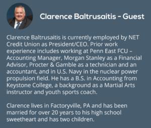 Episode 2 – Clarence Baltrusaitis & Mileise P S  Cooney, NET